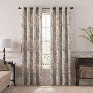 Chantal Printed Room Darkening Curtain Panel